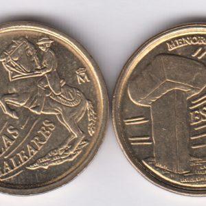 SPAIN ESPAÑA 5 Pesetas 1997 Baleares