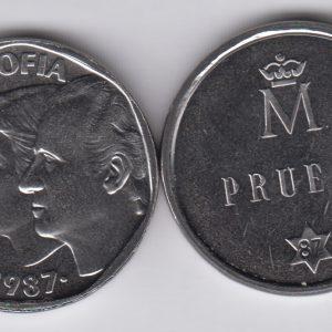 SPAIN ESPAÑA 500 Pesetas 1987 Prueba TS2