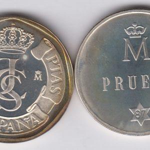 SPAIN ESPAÑA 500 Pesetas 1987 silver Prueba TS3