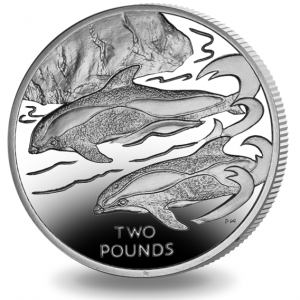 BRITISH ANTARCTIC 2015 Dolphin Hourglass