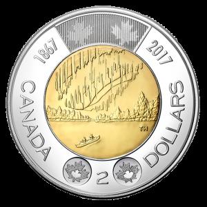 CANADA $2 2017 150th Anniversary 1867-2017