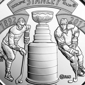 CANADA 25 Cents 2017 Stanley Cup