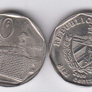 CUBA 10 Centavos 2010