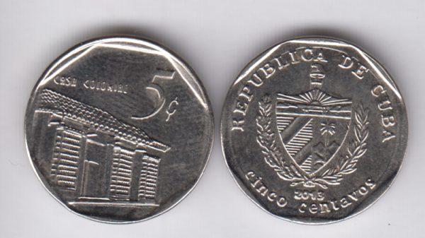 CUBA 5 Centavos 2013