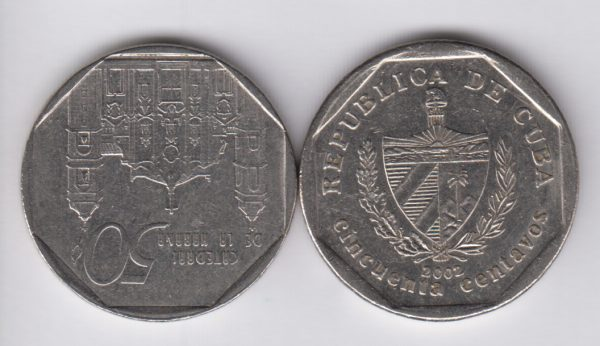 CUBA 50 Centavos 1994