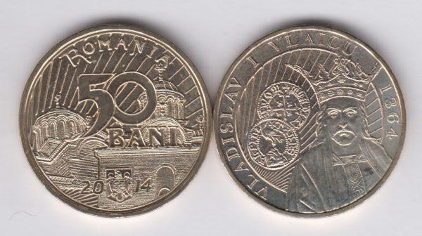 ROMANIA 50 Bani 2014 Vladislav Vlaicu