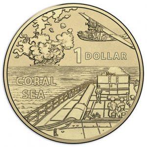 AUSTRALIA $1 2017 Coral Sea WWII