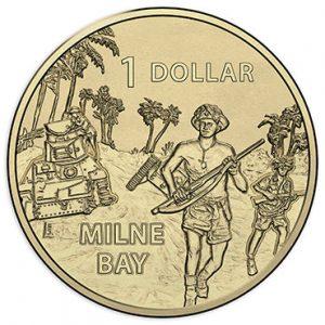 AUSTRALIA $1 2017 Milne Bay WWII