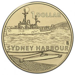 AUSTRALIA Set 4x $1 WWII, contains $1 Milne Bay, Kokoda Track, Coral Sea, Sydney Harbour