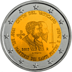 VATICAN 2€ 2017 Martyrs of Saint Paul and Saint Peter