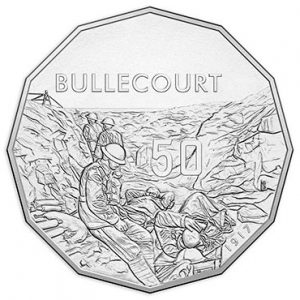 AUSTRALIA 50 Cents 2017 Bullecourt Battle WWI