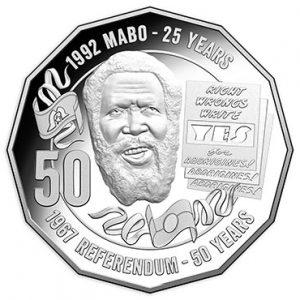 AUSTRALIA 50 Cents 2017 Eddie Mabo