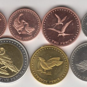 GOUGH ISLAND Set 7pcs 2009