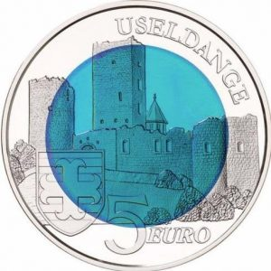 LUXEMBOURG 5€ 2017 Nobium, sold out at the mint