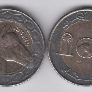 ALGERIA 100 Dinars 2010/1431