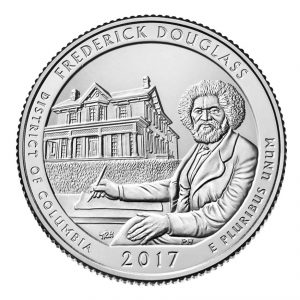 USA $¼ 2017D F.Douglas Historic Site