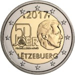 Luxembourg 2 Euro 2017 Military service