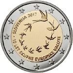 SLOVENIA 2 Euro 2047 10th Ann €