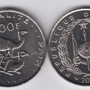 DJIBOUTI 100 Francs 2013 KM26