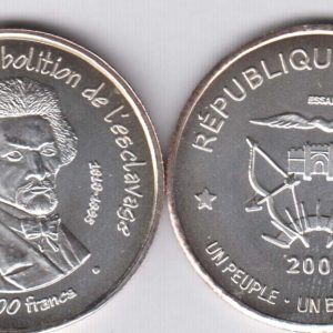 MALI 2500 Francs 2007 silver
