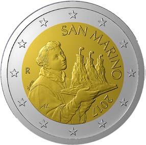 SAN MARINO 2 Euro 2017 new type