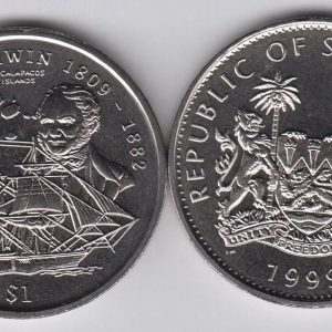 SIERRA LEONE $1 1999 Darwin Expedition KM115
