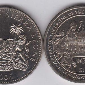 SIERRA LEONE $1 2006 St Peter Basilica
