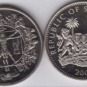 SIERRA LEONE $1 2006 Da Vinci