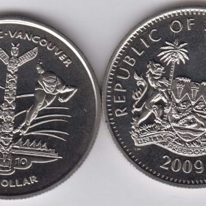 SIERRA LEONE $1 2009 Vancouver Olympics, sports KM361