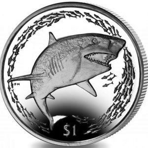 BRITISH VIRGIN ISLANDS $1 2016 Shark