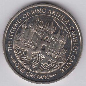 ISLE OF MAN 1 Crown 1996 King Arthur / Castle KM683