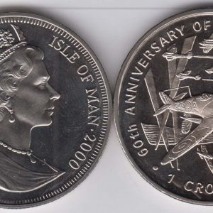 ISLE OF MAN 1 Crown 2000 Battle of Britain KM1033