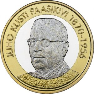 FINLAND 5€€ 2017 President Juho Kusti Paasikivi