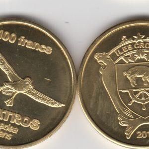 CROZET 100 Francs 2013, Squid, unusual coinage
