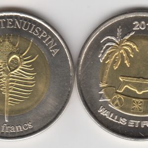 WALLIS & FUTUNA 20 Francs 2011 bimetal, unusual coinage