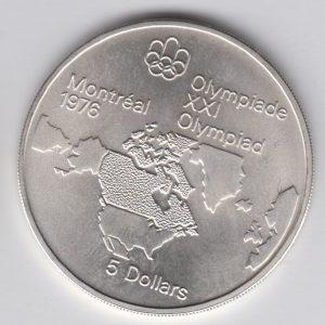 CANADA $5 1973 silver, KM85