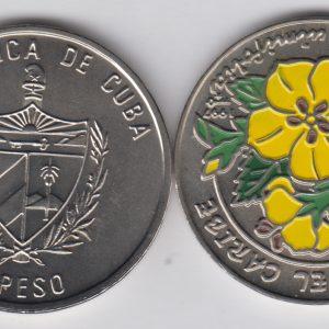 CUBA 1 Peso 1997 KM620