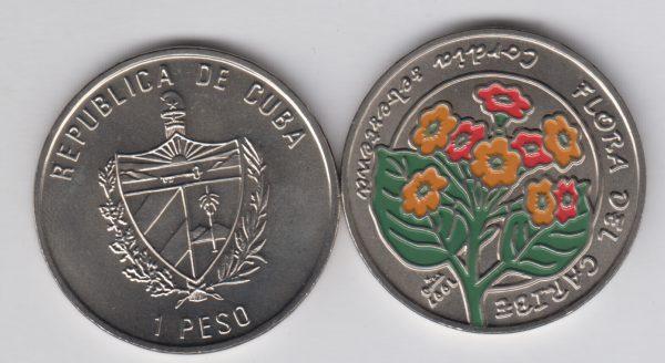 CUBA 1 Peso 1997 KM621