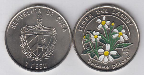 CUBA 1 Peso 1997 KM738