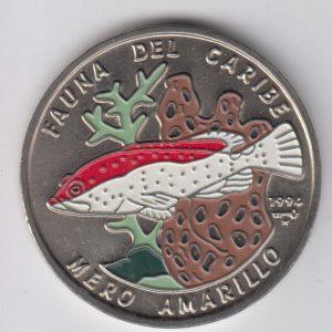 CUBA 1 Peso 1994 KM466.1