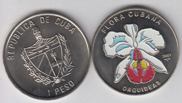 CUBA 1 Peso 2001 KM833