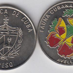 CUBA 1 Peso 2001 KM847