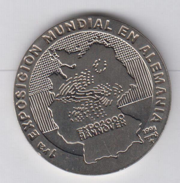 CUBA 1 Peso 1998 Expo Hannover
