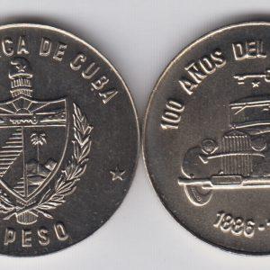 CUBA 1 Peso 1986 KM134
