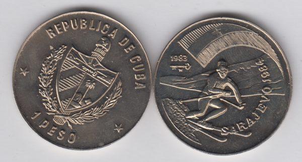 CUBA 1 Peso 1983 KM197