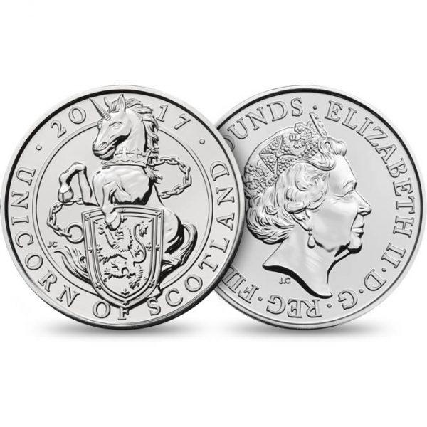 GREAT BRITAIN £5 2017  Scotish Unicorn