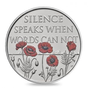 GREAT BRITAIN £5 2017  Rememberance Day WWI
