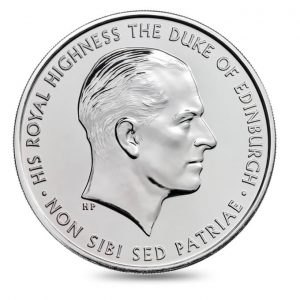 GREAT BRITAIN £5 2017  Prince Philip, a lifetime service