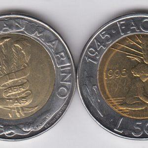 SAN MARINO 500 Lire 1995