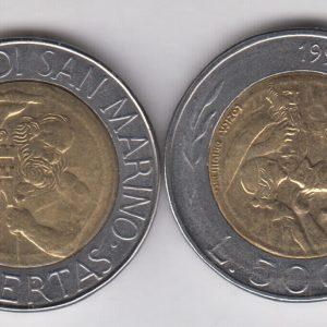 SAN MARINO 500 Lire 1994 KM314